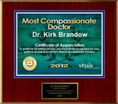 2012 Most Compassionate Doctor - Vitals