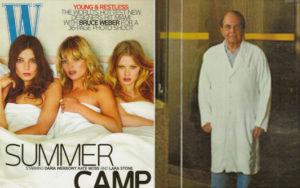 Dr. Brandow In W Magazine