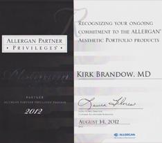 Allergan Partner Privileges Program