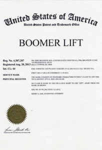 Dr. Brandow's Boomer Lift Procedure