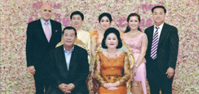 Royal Wedding with the Prime Minister of Cambodia