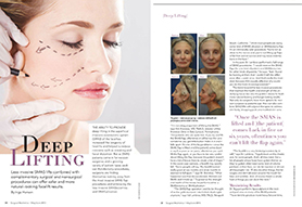 Dr. Brandow Featured In Surgical Aesthetics Magazine