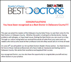 Reader's Choice Best Doctors 2015