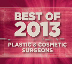 Plastic & Cosmetic Surgeons Best Of 2013